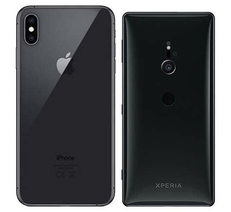 compare smartphones apple iphone xs max vs sony xperia xz2 cameracreativ