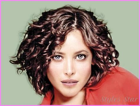thin frizzy hair haircuts medium haircuts for thin curly hair stylesstar com