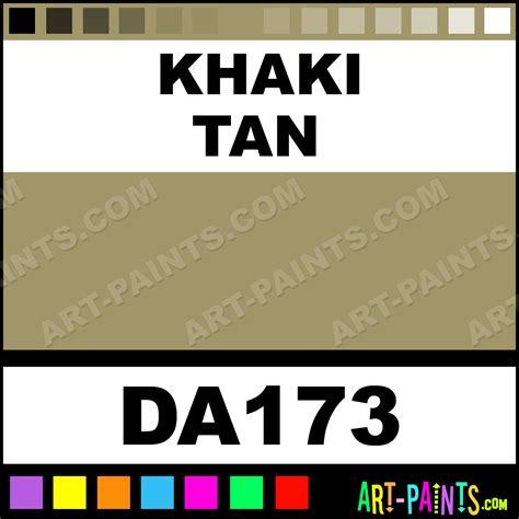 khaki americana acrylic paints da173 khaki paint khaki color decoart americana