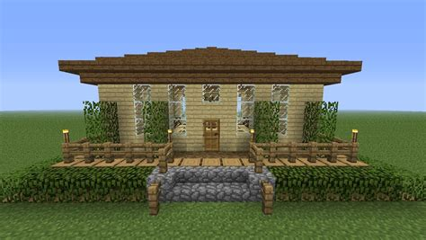 Free Blueprints For Houses minecraft wooden cottage tutorial hd youtube