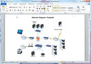 free antennas projects template network diagram templates for word