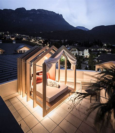 Cabana Style Bedroom by The Rooftop Bedroom At This Hotel Lets You Lie In Comfort