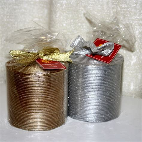 wrapped christmas candles picture free photograph