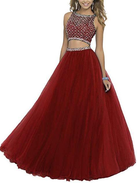 Dress Ysk ysk s 2016 two beaded prom dresses sequined