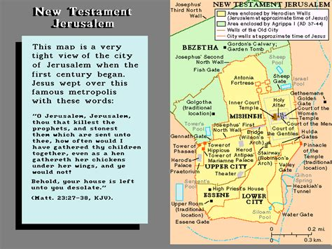 map of new testament jerusalem map of new testament jerusalem