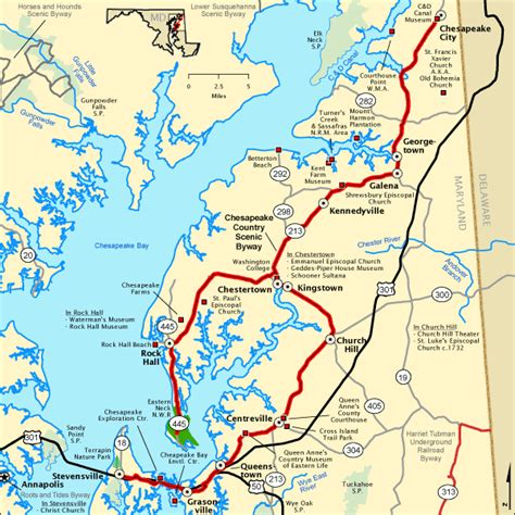 maryland dot map chesapeake country scenic byway map america s byways