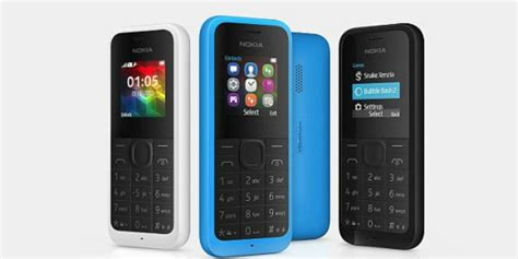 nokia 105 ponsel murah yang bisa melek 1 bulan