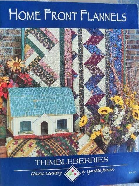Thimbleberries Quilt Books by Home Front Flannels Thimbleberries Lynette Quilting