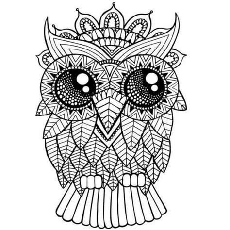 owl mandala coloring pages for adults therapeutic mandalas mandalas to paint mandala designs