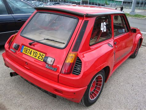 renault 5 turbo fab wheels digest f w d renault 5 turbo 1980 85