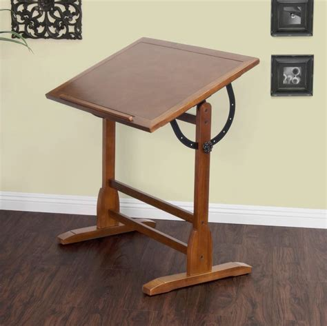 Drafting Table Wood Professional Drafting Table With Parallel Bar Adjustable Antique Vintage Wood Ebay