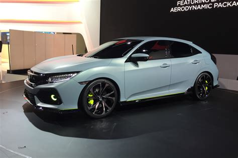prototype cars 2017 honda civic prototype unveiled in geneva by car