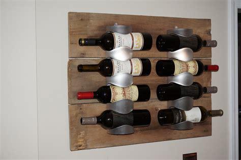 The Range Wine Rack by Vurm Wine Racks With Antique Barn Wood Hackers