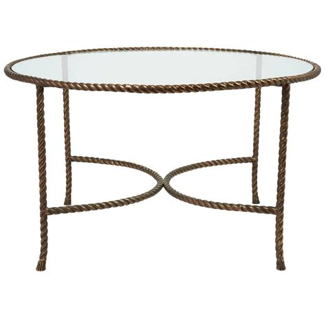 Rope Table L Rope Table L Italian Solid Bronze Rope And Tassle Cocktail Table For Sale At 1stdibs Coffee