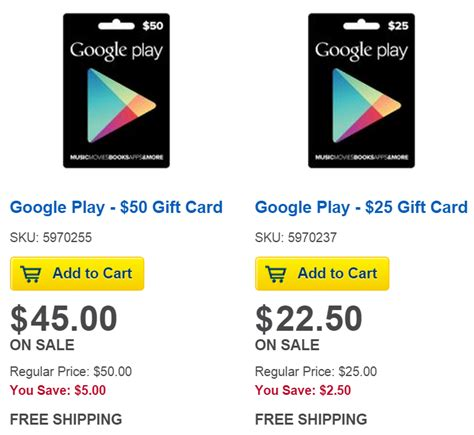 Google Play Gift Card Online Purchase - gift coupon line play online spa deals in chandigarh