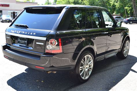 luxury black range rover 2012 land rover range rover sport luxury pre owned