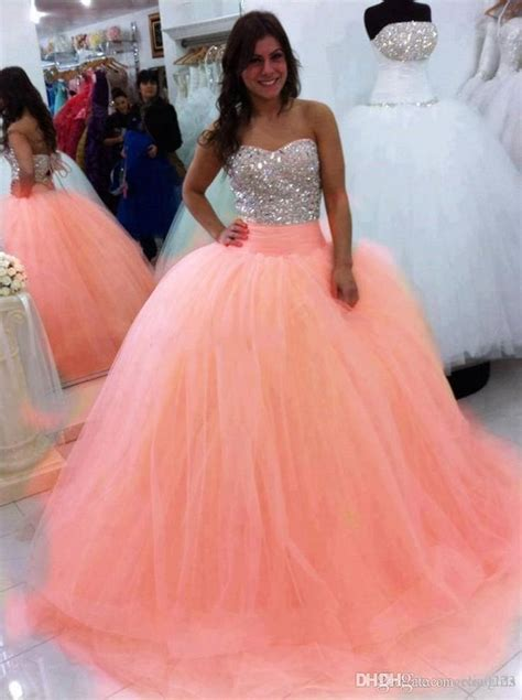 sparkly beading crystal quinceanera dresses strapless