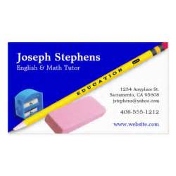business cards for tutors mentor or tutor business card zazzle