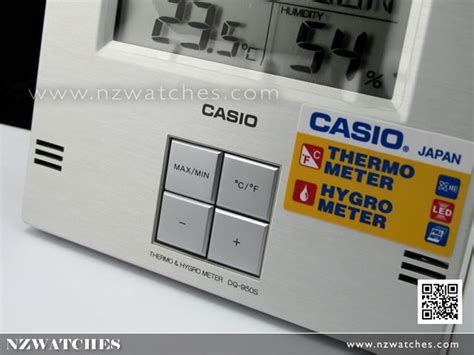 Casio Special Thermo buy casio desk clock with thermo hygro meter dq 950s 8df