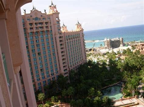 atlantis royal towers water view room view to the left of our waterview room in royal towers picture of atlantis tower