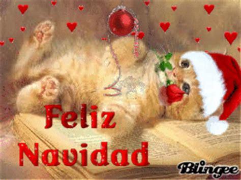 imagenes de feliz navidad con gatitos feliz navidad a los gatos picture 127306693 blingee com
