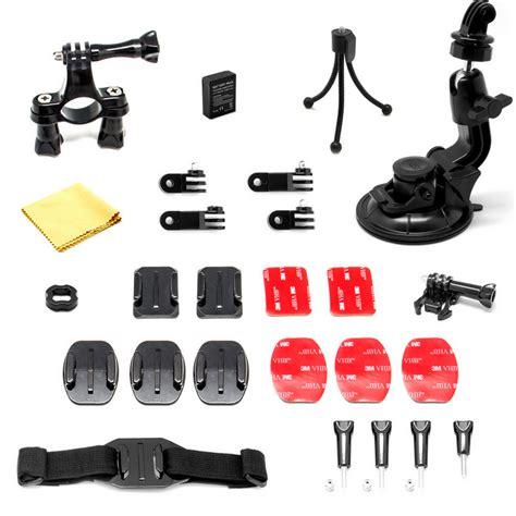 accesorios para camaras de fotos kit de accesorios 15 en 1 para gopro y c 225 maras deportivas