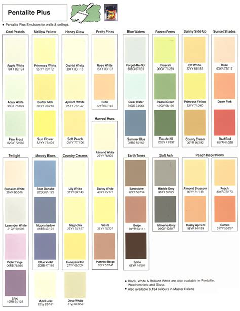 ici paint color chart ideas dulux colour android apps on play dulux paint colour chart