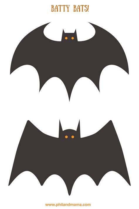 free printable halloween bat pictures printable halloween bats