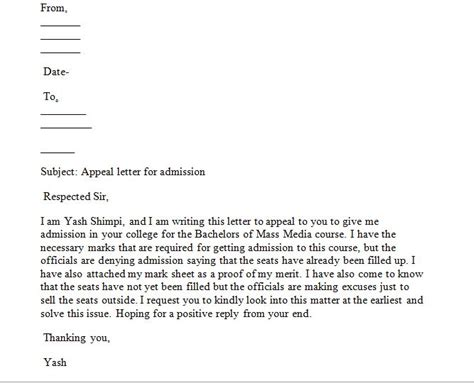 how to write appeal letter sle appeal letter how write an appeal letter that will