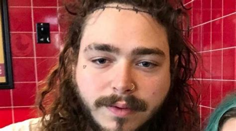 post malone apparently has another face tattoo