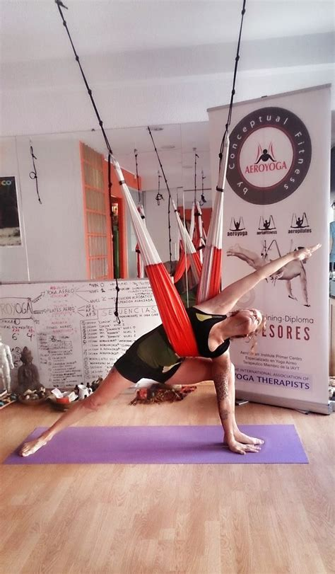 aerial combine traditional poses pilates and with the use of a hammock books top 25 ideas about trap 232 ze on salud