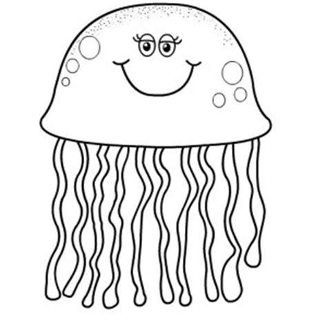 cartoon jellyfish coloring pages cute jellyfish and seahorse coloring pages big bang fish