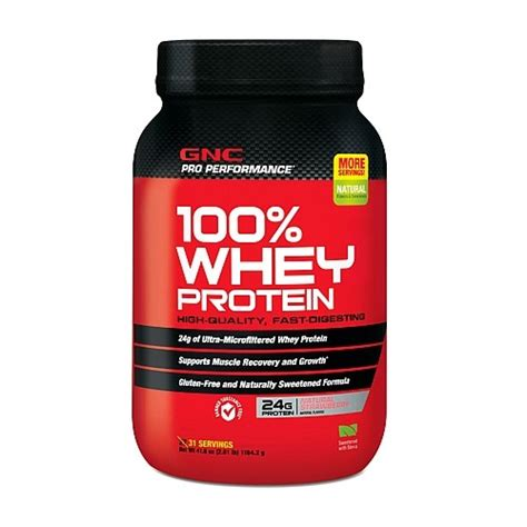 Whey Protein Gnc Gnc Pro Performance 100 Whey Protein Strawberry