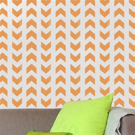 chevron pattern wall stencil chevron pattern stencil geometric wall decorating stencil