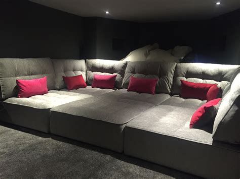 Home Cinema Sofa Bed Cineak Intimo Fortuny Luxury Home