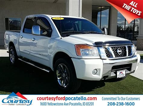 2011 nissan titan crew cab 2011 nissan titan crew cab sl for sale 14 used cars from
