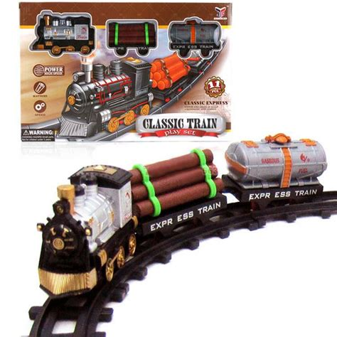1 Set Clasic 1 set classic rail toys electric rail models