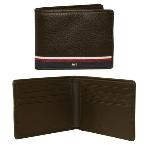 Tommy Hilfiger Gift Card - tommy hilfiger mini credit card leather wallet brown underu