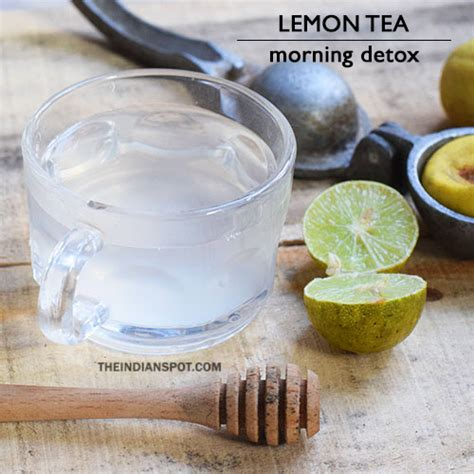 Squeeze Tea Detox by Morning Detox Tea Recipes For Healthy And Glowing