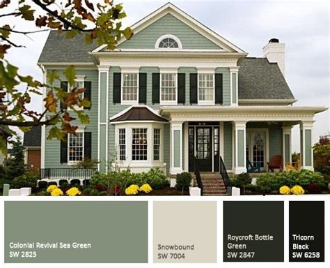 trending house colors 25 best ideas about green exterior paints on pinterest
