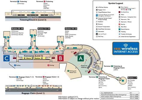 washington dc terminal map map of washington dc airport parking lot 2017 2018