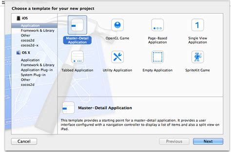 xcode tutorial master detail application ios tutorial how to create a simple iphone app part 1 3