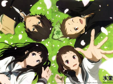 anime hyouka unspoken thoughts anime review hyouka