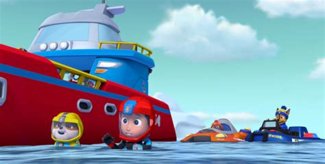 can paw patrol boat go in water dvd review paw patrol sea patrol inside pulse