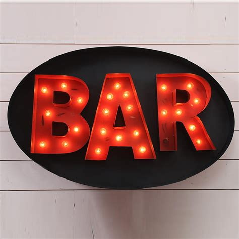 lighted signs for sale design legacy lighted bar sign lsbar