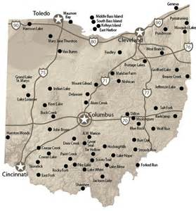 Ohio State Parks Map by Map Of Ohio S State Parks Pictures To Pin On Pinterest