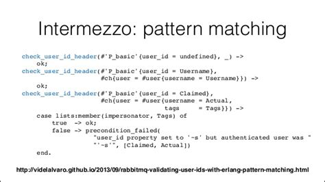 pattern matching erlang dissecting the rabbit rabbitmq internal architecture
