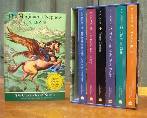 chronicles of narnia series author 5 books you should read at least once
