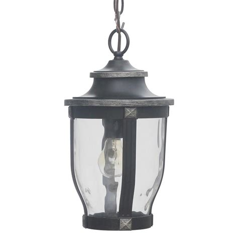Home Decorators Collection Mccarthy 1 Light Bronze Outdoor Outdoor Chain Lights