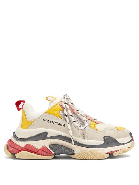 Balenciaga New by Lyst Balenciaga S Low Top Trainers In White